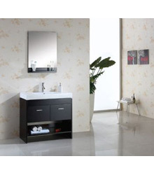48inc black bathroom vanity cabinetS899