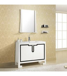 36inc white modern bathroom vanity S903