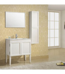 36inc modern bathroom vanity in white S904