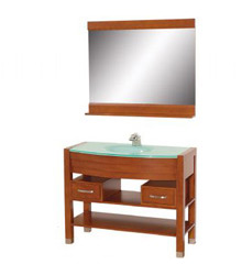 36inc bathroom vanity in cherry color 58599