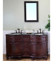 62inc traditional double sink bathroom vanity s4105