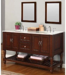 60inc espresso bathroom vanities cabinet s3105