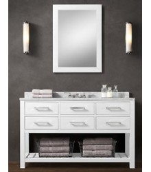 White Bathroom Vanity and White Bathroom Vanity Manufacturers ...