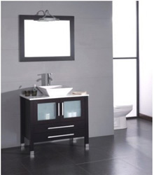 36inc vessel sink bathroom furniture S749
