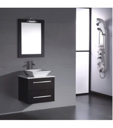 18inc small bathroom cabinet S752