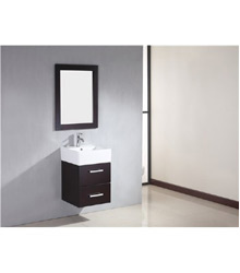 18inc small wall mounted bathroom vanity