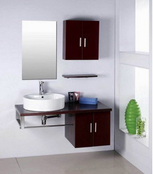 wall mounting bathroom wooden furniture
