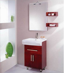 economical wooden bathroom furniture S437