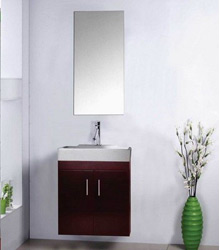 simple design bathroom wooden furniture
