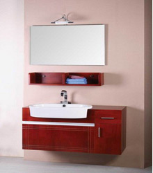 wall mounting solid wood bathroom cabinet S4452