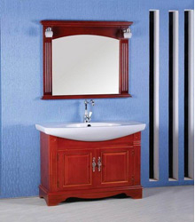 S448 traditional wooden bathroom furniture