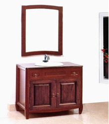 S453 classical bathroom wooden cabinet