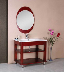 S460 simple style wooden bathroom furniture