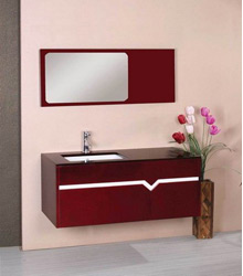 S461 contemporary wooden bathroom cabinet