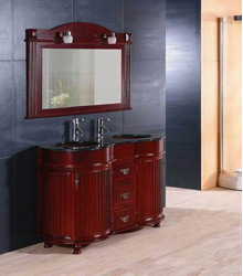 classical bathroom wooden furniture S4762