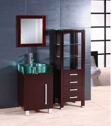 S478 modern bathroom wooden furniture